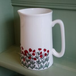 Poppies Jug