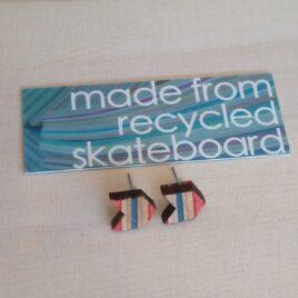 Skateboard Stud Earrings