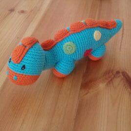 Stegosaurus Rattle