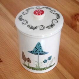 Toadstool Storage Jar