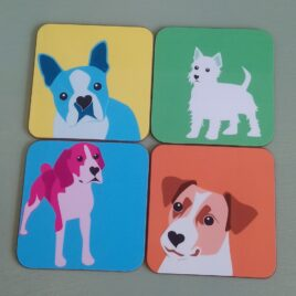 Dog Coaster Set